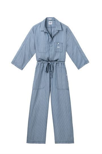 Lee Buksedragt - Wide Leg Jumpsuit, Dipped Blue